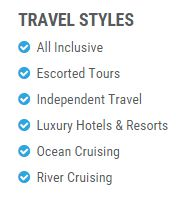 Gratify Travel Styles